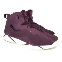 Nike Mens Air Jordan True Flight 342964-625 Burgundy Basketball Shoes Size 9.5