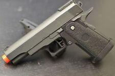 Compact 1911 Airsoft Handgun AIR SOFT HAND GUN G10 All Metal Drop Down Clip NEW