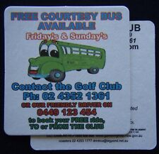 Wyong Golf Club Free Courtesy Bus Available 0243521361 2 x Coaster (B305)