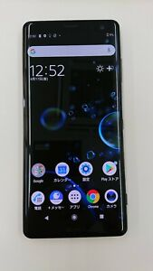 SONY Xperia XZ3 801SO - 64GB - Black (softbank SIM Locked)   200802282  03/03