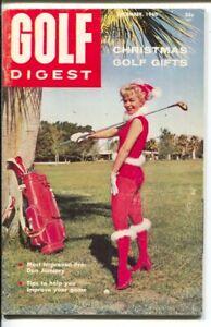 Golf Digest 12/1960-info-instructions-Bobby Jones-Roberta Albers-Betty Hicks-...
