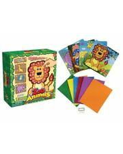 Bulk Wholesale Job Lot 12 Jungle Animal Mosaic Picture Art Sets Toys