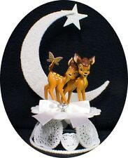 Wedding Cake Topper W/ Disney Classic Bambi the Deer nature adorable
