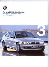 + + RIDUZIONE + + BMW 3 SERIES COUPE E46 BROCHURE AUTO 1999 2000