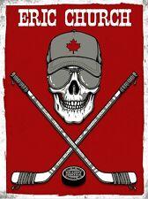 Eric Church 2013 Brandt Centre Regina SK Poster Signed Artist Proof Rare!!