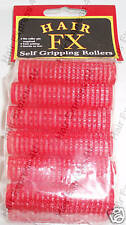 Hair FX Self Gripping Red 13mm Rollers, 12pk