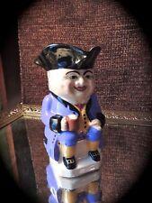 Vintage Devonmoor Pottery Toby Patriot Cream Pitcher signed WM