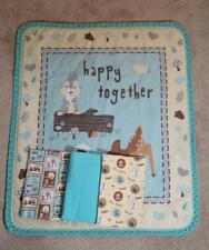 NURSERY CRIB QUILT/SHEET SET- DISNEY'S BAMBI & FRIENDS - HAPPY TOGETHER