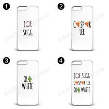 Jaspoli Hard plastic Phone Case Joe Sugg Caspar Lee, Oli iPhone Samsung Galaxy