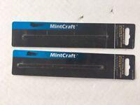 "MINTCRAFT 6"" JUNIOR HACKSAW BLADE SKU#223-4698 2PC 24TPI"