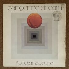 Tangerine Dream Force Majeure LP In Clear Transparent Vinyl