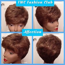 "TWC Fashion Club Wig ""Affection"" Size Average #12 Light Gold Brown CLEAN! (B-A12"