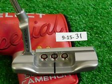 """Titleist Scotty Cameron 2020 Special Select Newport 34"""" Putter w Headcover New"""