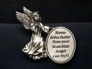 Angel Visor Clip w/oval - Never drive faster... KVC163