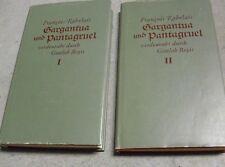 RABELAIS Gargantua und Pantagruel DÜNNDRUCK 2 Bände Ln OSU gbd ill. Holzschnitte