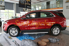 Newest style Fit for Chevrolet Equinox 2018 18 Running Board Side Step Nerf Bar