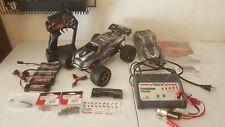Traxxas E Revo Brushless 1/16 vxl 4WD charger NICE slash summit E-revo