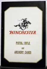 Winchester Pistols/Rifles and Archery Cases Catalog Brochure