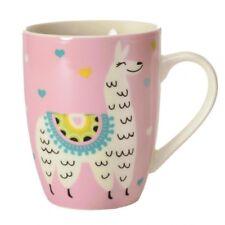 Kaffeebecher Lama in rosa Kaffeetasse Alpaka Tasse Becher Kaffeetasse Kamel