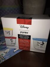 New ListingPyrex Disney Special Edition Mickey Mouse 6 piece bowl set. Nib Sold Out!