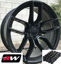 "(4) 20"" inch RW Wheels for Chrysler 300 Gloss Black 2641 Rims SRT Challenger"