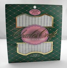 14 Count Waste Canvas Fabric All Cotton by Charles Craft - 3 Pieces 6