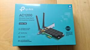 TP-Link Archer T4E AC1200 Wi-Fi PCI Express Adapter, 802.11ac Dual Band NEU OVP