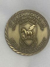 10th Special Forces Airborne 1st Battalion Bad Tölz Army Challenge Coin Rare!!!!
