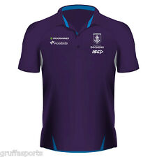 FREMANTLE Dockers 2017 Players Polo Shirt Sizes S - 5xl AFL ISC in Stock Now Mens Large (chest 100 - 105cm)