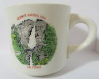 Vintage Yosemite National Park Falls California USA Coffee Tea Cup Mug