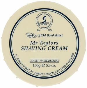 Taylor of Old Bond Street Mr Taylors Mens Traditional Shaving Cream Tub 150g