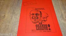 bourvil LA GRANDE LESSIVE ! jp  mocky dossier presse scenario cinema 1968