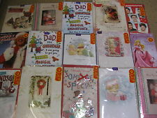 200 MIXED CHRISTMAS CARDS TOP QUALITY ALL SIZES WHOLESALE JOB LOTS HALLMARK