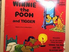 1968 Walt Disney Presents Songs About Winnie the Pooh and Tigger