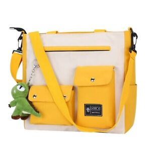 Women Handbag Shoulder Crossbody Large Capacity Tote Unisex Messenger Bag Casual