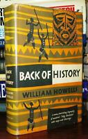 Howells, William BACK OF HISTORY  1st Edition Early Printing