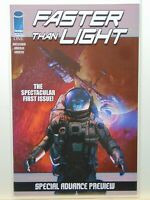 Faster than Light #1 Special Advance Edition Image Comics CB7896