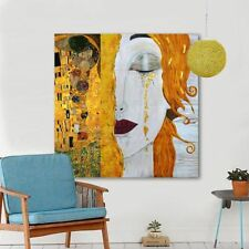 Modern Oil Painting Canvas Art Abstract Gustav Klimt Golden Tears Wall Pictures