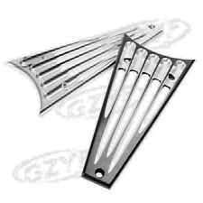 Aluminum Radiator Grill Cover For Harley Road/Street Glide Ultra/Electra 15-17