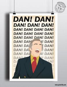 ALAN PARTRIDGE Minimalist Sitcom Poster by Posteritty Minimal Print Dan Coogan