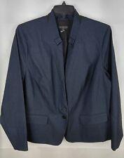 Lane Bryant Woman Plus 22W Blue Denim Suit Blazer Jacket NEW