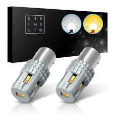 SiriusLED 1157 White Yellow Dual Color Switchback LED - Fog DRL Tail Turn Signal