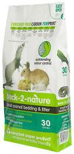 back 2 nature lettiera carta riciclata 30L per conigli furetti roditori rettili