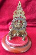 Very Rare Small Victorian Skeleton Clock.