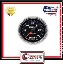 AutoMeter 0-30 PSI Cobalt Boost Pressure Analog Gauge * 6160 *