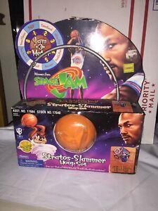 Space Jam Michael Jordan Stratos-Slammer Hoop Set