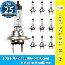 472 H4 3 Pin Headlight Bulb Trade Pack of 10 with 10x FREE R380 Bulbs  RING