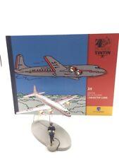 En Avion Tintin l'avion soldait d'objectif lune  N24 + livret