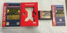 Vintage 1992 Mindscape Sega Genesis Super Battleship Red Box Instructions Game