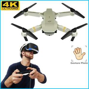 Drone 1080P 4K HD Camera Battery Foldable Selfie Long Range RC Quadcopter Drones